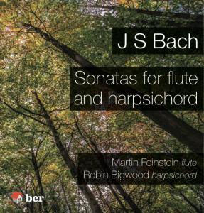 Bach Flute Sonatas CD image
