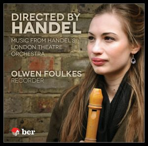 CD cover image of Olwen Foulkes Handel CD